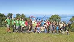 Dernier chantier de plantation de la saison au Ouen Toro pour le WWF