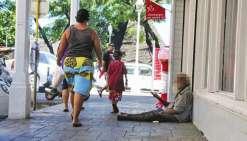 Les SDF en augmentation à Papeete