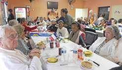 Repas patriotique à l'Acapa