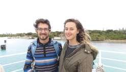 Un couple sur les routes  de la Grande Terre