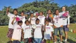 Le retour des championnes  au collège Shéa-Tiaou