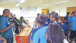 Un concentré de métiers et  de filières au collège Essaü-Voudjo