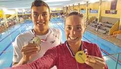 Quatre médailles pour Lara Grangeon