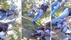 Des violences policières filmées par smartphone
