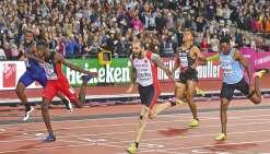 Ramil Guliyev, roi du 200 m