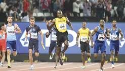 Bolt foudroyé dans  sa dernière ligne droite