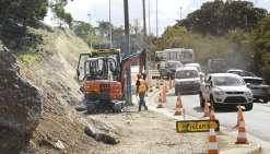 Le chantier de la rue Gouassem repoussé
