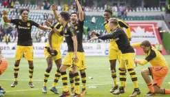 Dortmund prend les commandes