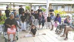 Les passionnés de pétanque et de taekwondo réunis auprès des anciens