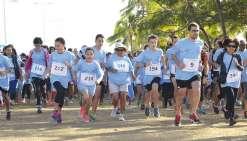 Plus de 400 Calédoniens ont couru hier matin pour le don d'organes. Cristel Briault n'en revient pas. Le record de participants a été battu. « C'est un très bon signe », se réjouit la présidente de l'association organisatrice de l'événement.