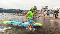 Titouan Puyo s'impose à la Gorge Paddle Challenge