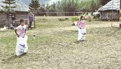 Les enfants à l'honneur sur le site de Kradji