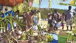 Le partage autour du taro et du manioc