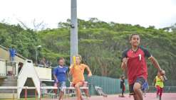 Le collège de Tiéta conserve  le trophée UNSS d'athlétisme