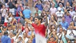Federer encore en rodage