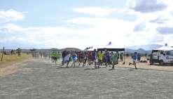 Les élèves du lycée Michel-Rocard ont couru pour la bonne cause