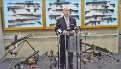 Une collecte d'armes à feu fructueuse