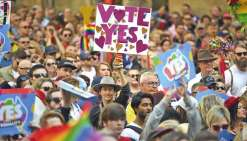 Les pro-mariage gay manifestent en Australie