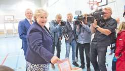 Erna Solberg, Première ministre « normale »