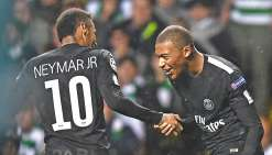 Paris explose le Celtic Glasgow