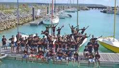 Le lycée Willama-Haudra a le vent en poupe au Trophée des jeunes marins
