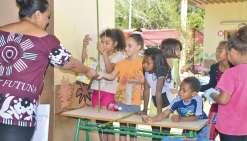 Une journée de fête  à l'école de Wani