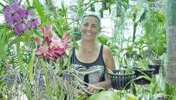 Lydia Fromont va fleurir la Foire du Nord