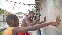 Guadeloupe : calfeutrés entre amis en attendant Maria