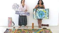 Trois artistes s'expriment hors limites à Boulari