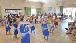 De la danse tahitienne pour les anciens
