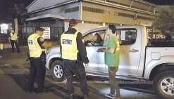 Vaste contrôle routier dans le Grand Nouméa