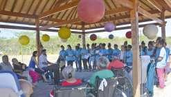 La chorale du Sacré-Cœur chante pour les retraités