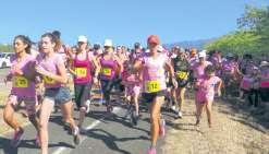 Les femmes courent pour la Croix-Rouge