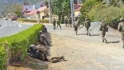 La Foa sous contrôle militaire