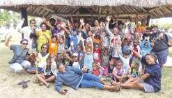Les jeunes de la côte Est en terre Kunié