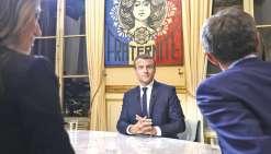 Macron : « Je fais ce que j'ai dit »