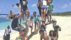 Les ados de l'AON en vacances au Vanuatu