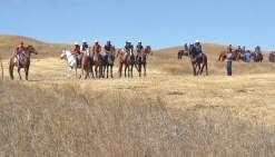 Ouazangou, terre de cheval