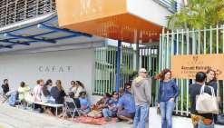 Plusieurs cahiers de revendications sont pendants à la Cafat, où des élections sont prévues dans trois semaines.