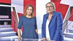 Débat, sortie de l'euro :les regrets de Marine Le Pen