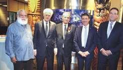 Alain Christnacht honoré à la Maison de la Nouvelle-Calédonie
