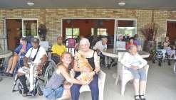 Une nouvelle pensionnaire qui a du flair à la maison de retraite