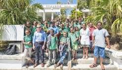 Les élèves de Tadine rencontrent leurs correspondants de Nouméa