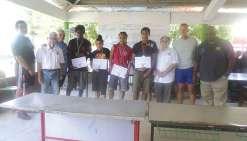Des médailles pour les jeunes sportifs