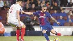 Barcelone poursuit  sa série d'invincibilité