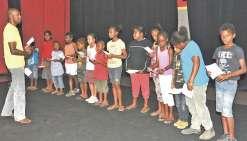 La chorale de Baganda  finit sur une bonne note