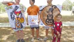 Les Archers de la Tipinga  ont fêté Halloween