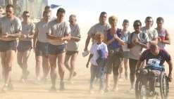 Un entraînement en Calédonie avant la Vallée de la mort