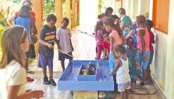 Une kermesse pour faire voyager les enfants