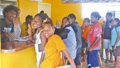 Une cafétéria vient  d'ouvrir au lycée des Îles